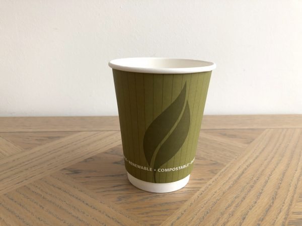 8oz Biodegradable Double Wall Cups