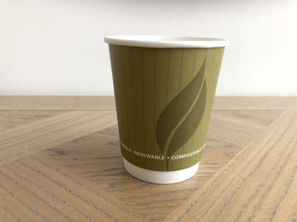 12oz Biodegradable Double Wall Cups