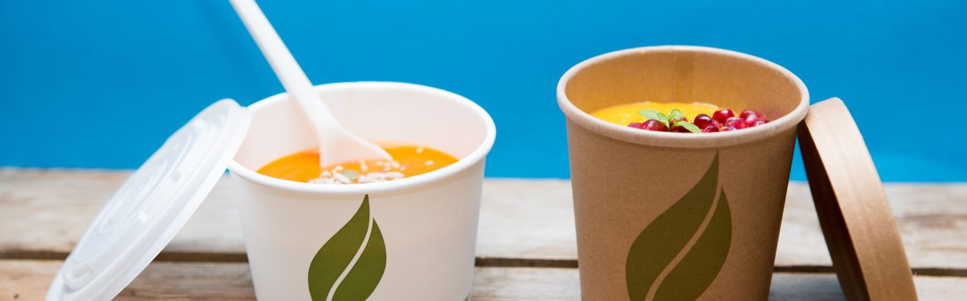 Biodegradable Salad Bowls & Soup Containers